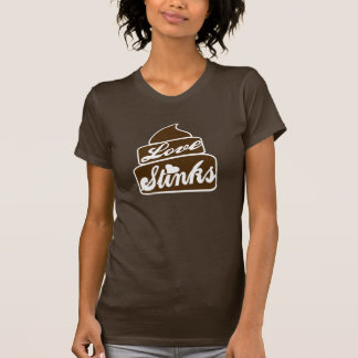 Love Stinks poo T-shirt