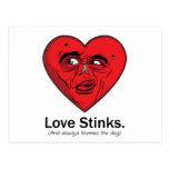 Love Stinks Post Cards