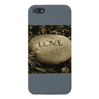 """Love"" Stone Case For iPhone 5/5S"