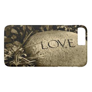"""""""Love"""" Stone iPhone 8 Plus/7 Plus Case"""