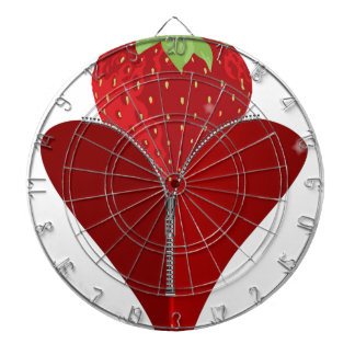 Love Strawberry Dartboard