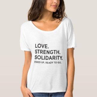 Love, Strength, Solidarity Slouchy T-Shirt