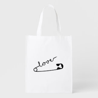 Love Strength Together Reusable Grocery Bag