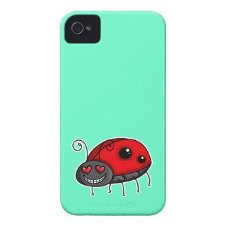 Love Struck Ladybird Ladybug Blackberry Bold Cases