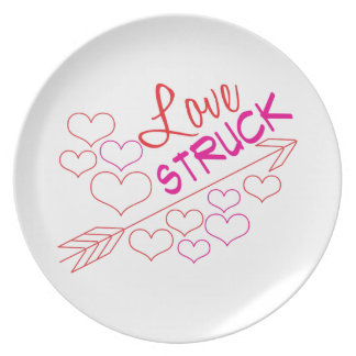 Love Struck Dinner Plates