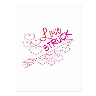 Love Struck Postcard