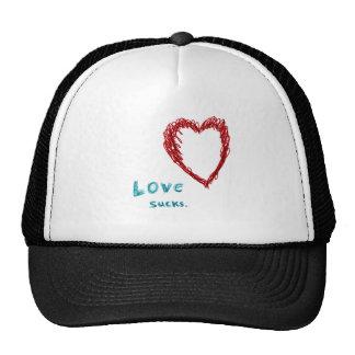 Love Sucks Mesh Hats