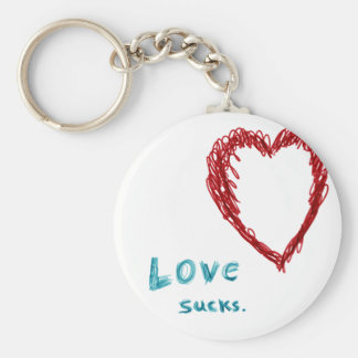 Love Sucks Keychain