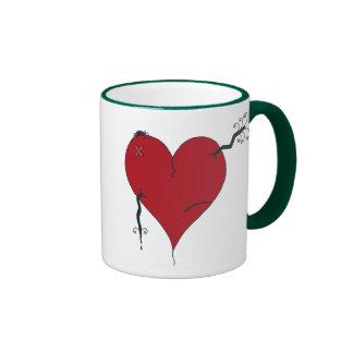 Love Sucks Ringer Mug