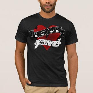 Love Sucks Tattoo T-Shirt