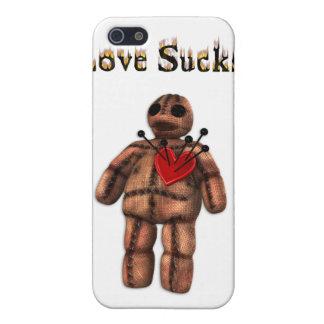Love Sucks Voodoo Doll  iPhone 5 Cases