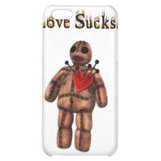 Love Sucks Voodoo Doll  Case For iPhone 5C