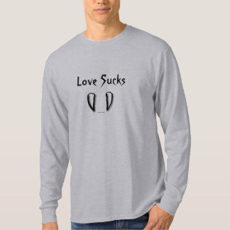 Love Sucks with Vampire Fangs T-Shirt
