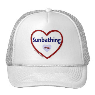 Love Sunbathing Cap