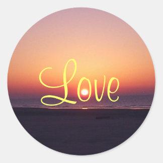 Love Sunrise Sticker