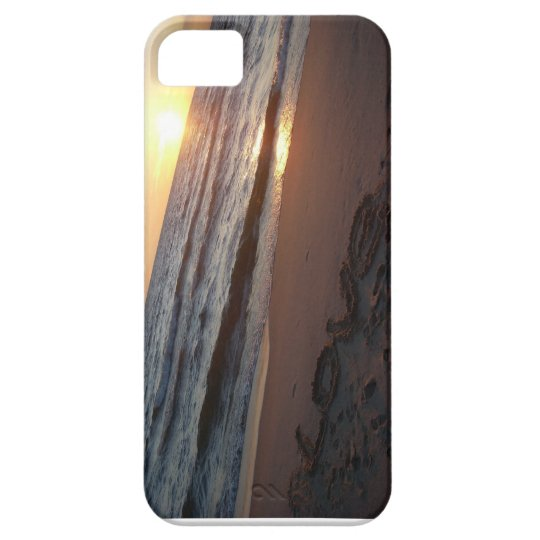Love Sunset Barely There iPhone 5 Case