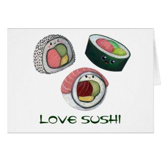 Love Sushi Card