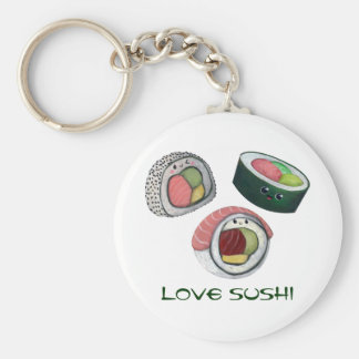 Love Sushi Key Ring