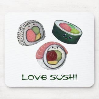 Love Sushi Mouse Mat