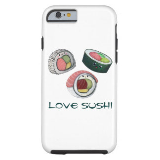 Love Sushi Tough iPhone 6 Case