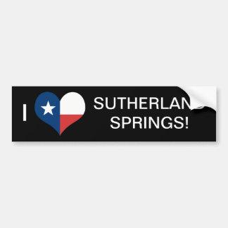 LOVE SUTHERLAND SPRINGS BUMPER STICKER