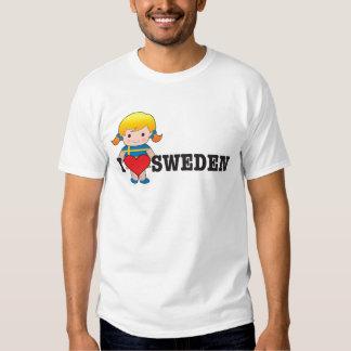 Love Sweden T-shirts