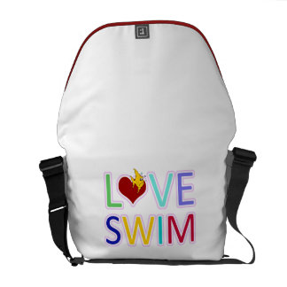 LOVE SWIM COURIER BAGS