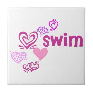 Love Swim Tiles