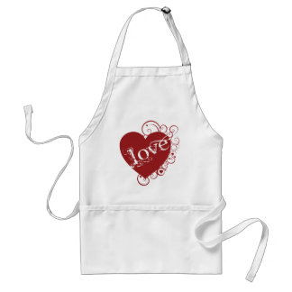 Love Swirl Design Apron