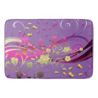 Love Swirl Flower Bath Mats