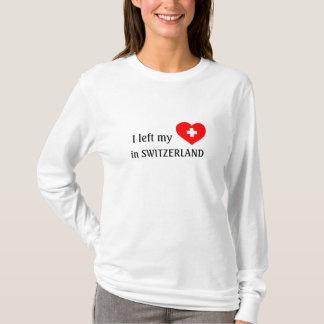 Love Switzerland souvenir t-shirt