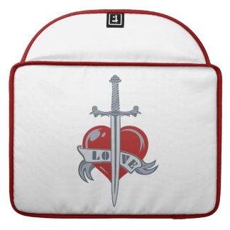 """Love Sword custom 15"""" MacBook sleeve"""