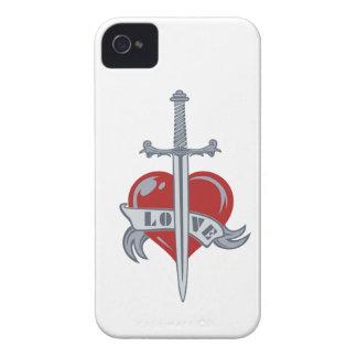 Love Sword custom Blackberry case