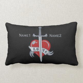 Love Sword custom throw pillows
