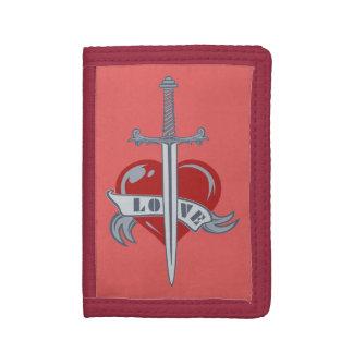 Love Sword custom wallets