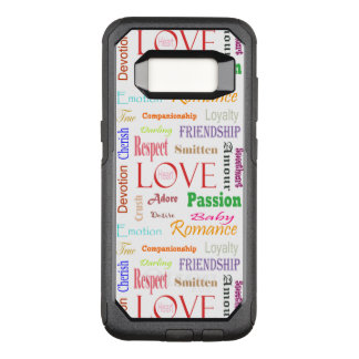 Love Synonyms by Shirley Taylor OtterBox Commuter Samsung Galaxy S8 Case