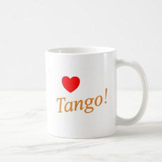 Love Tango! Basic White Mug