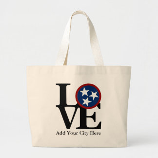 LOVE Tennessee Grocery Tote