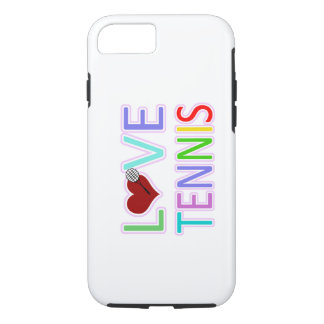 LOVE Tennis iPhone 7 Case