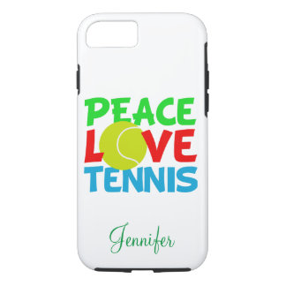 Love Tennis Personalized iPhone 7 Case