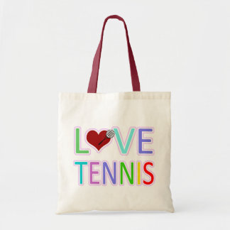 LOVE TENNIS TOTE BAGS