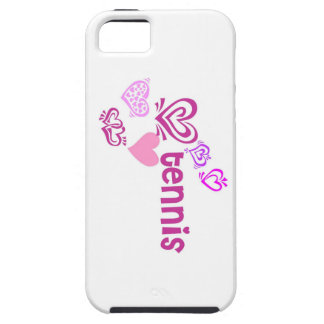 Love Tennis Tough iPhone 5 Case
