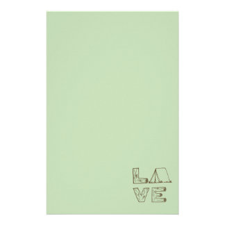 Love Tent Camping Customized Stationery
