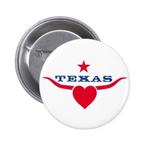 Love Texas Button