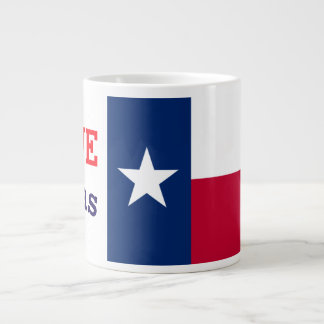 love texas large coffee mug