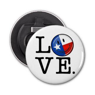 Love Texas Smiling Flag