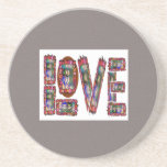 LOVE Text TEXT Quote Wisdom TEMPLATE add TXT IMG Coaster