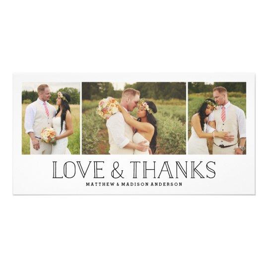 Love & Thanks Boho | Wedding Thank You