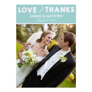 Love & Thanks Cards   Wedding Thank Yous