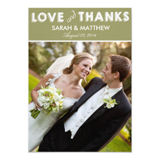 Love & Thanks Cards | Wedding Thank Yous Invitations